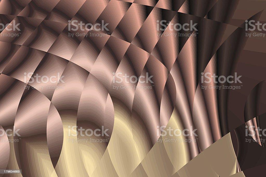 Magic tracks background - creamy foil illusion. royalty-free stock photo