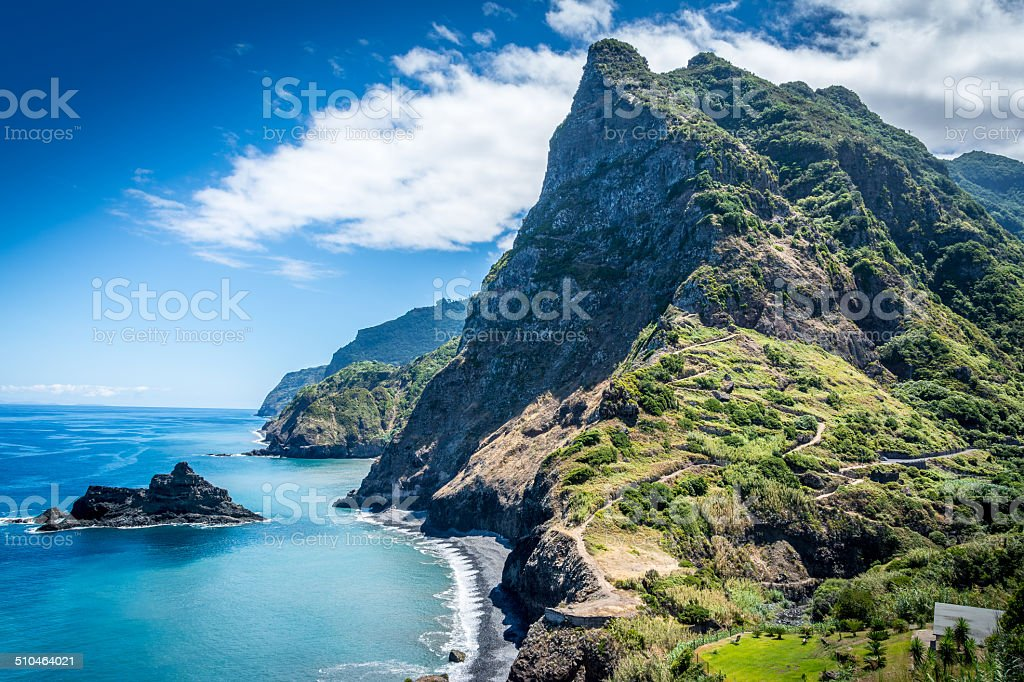 Magical Madeira island stock photo