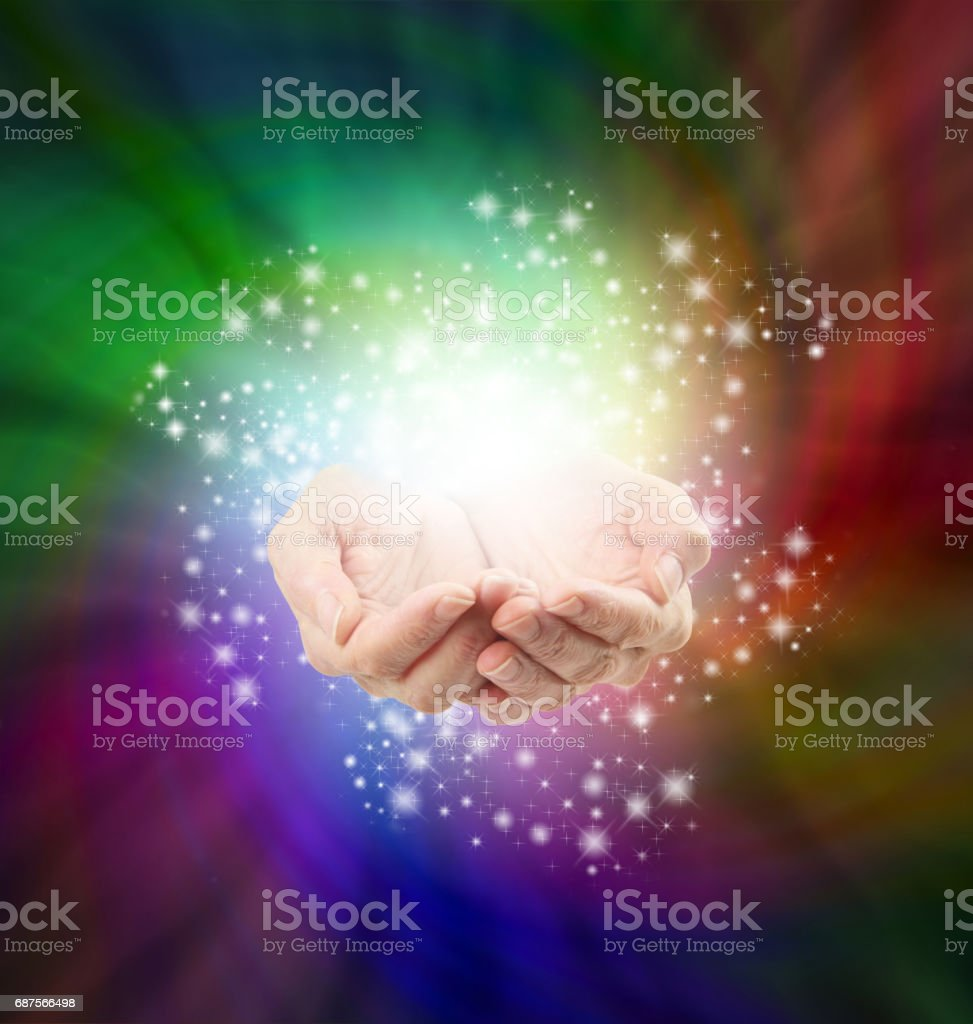 Magical Moment stock photo