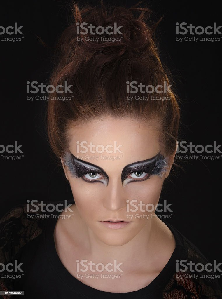 magical portrait royalty-free stock photo