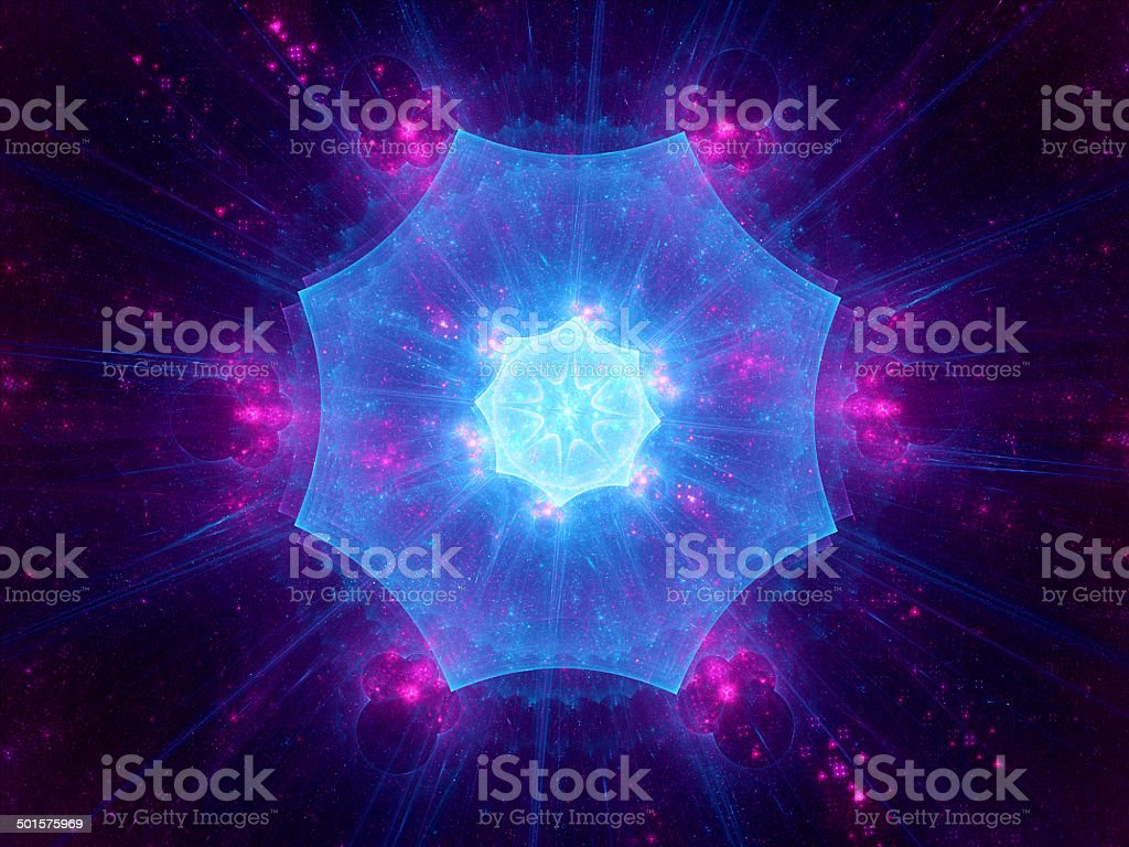 Magical space object royalty-free stock photo