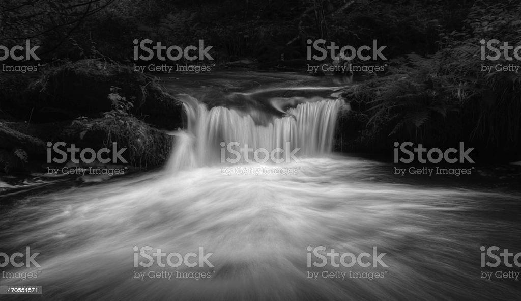 Magical Waterfall royalty-free stock photo