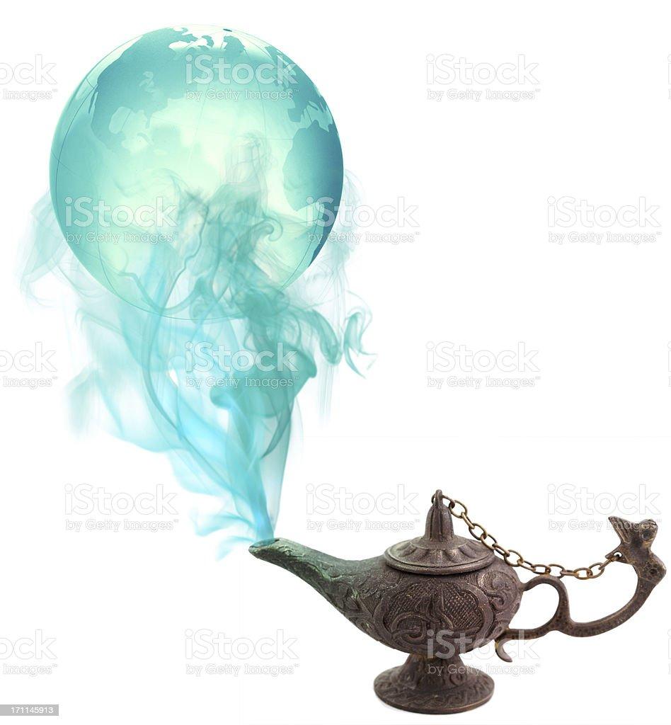 Magical World stock photo