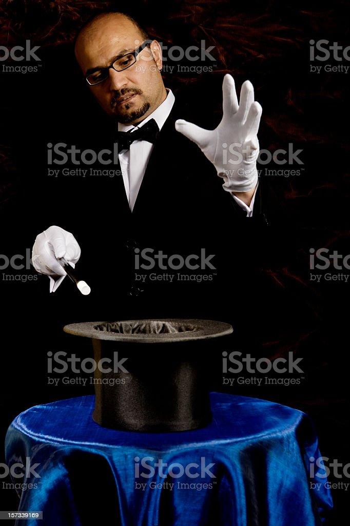 magician royalty-free stock photo