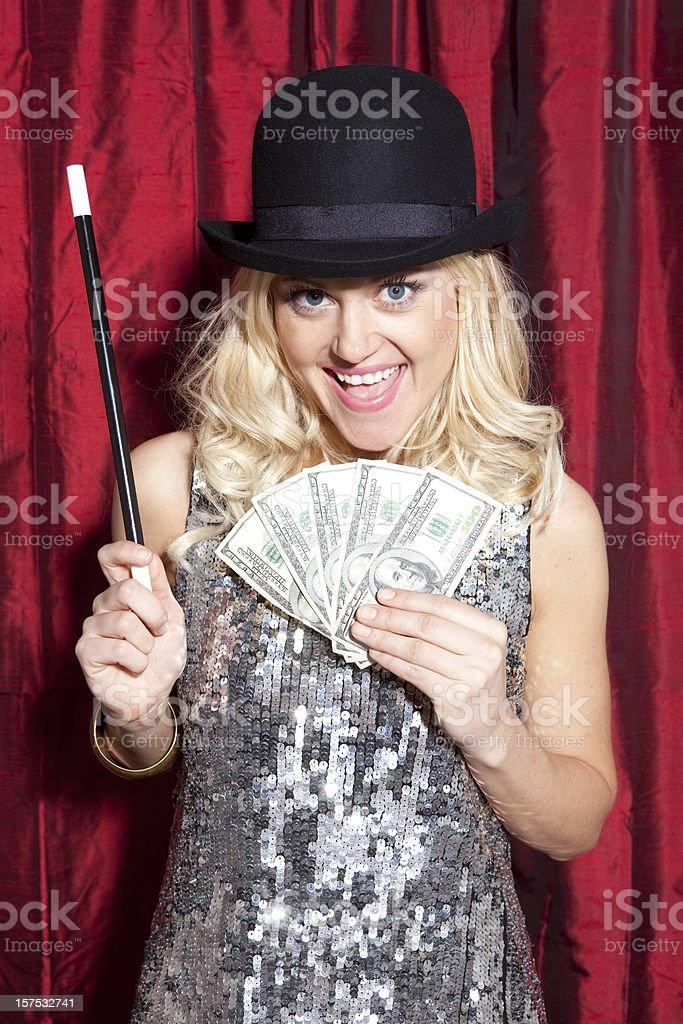 Magician Series stock photo