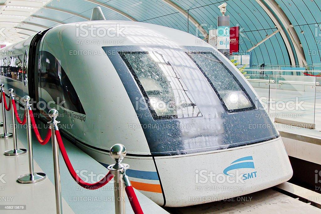 Maglev Train royalty-free stock photo