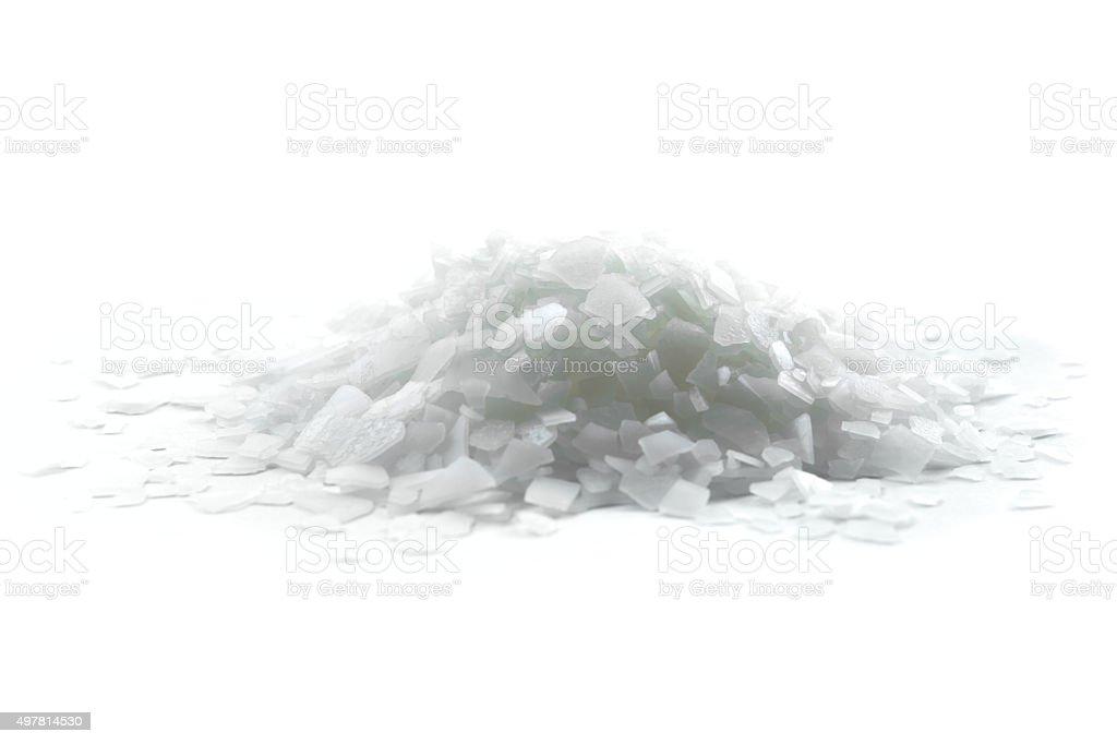 Magnesium chloride stock photo
