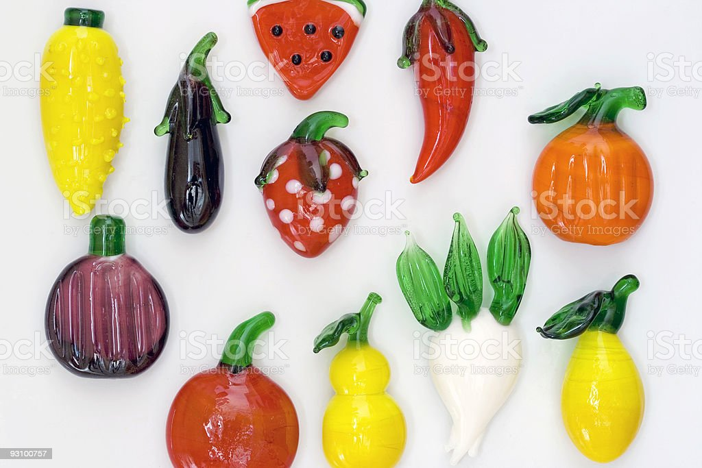 Magnet fruit royalty-free stock photo