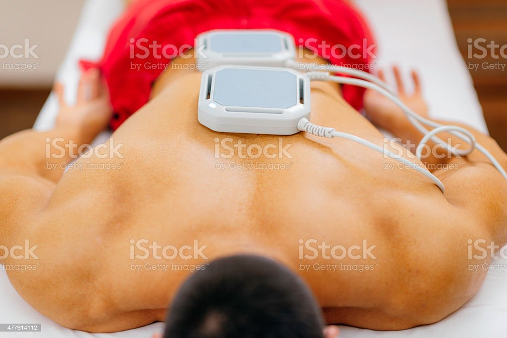 Magnet Therapy stock photo