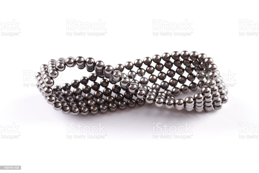 magnetic balls - infinity royalty-free stock photo