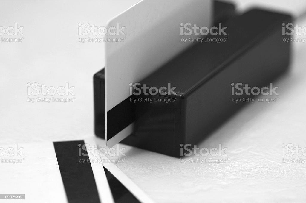 Magnetic Card Swiper stock photo
