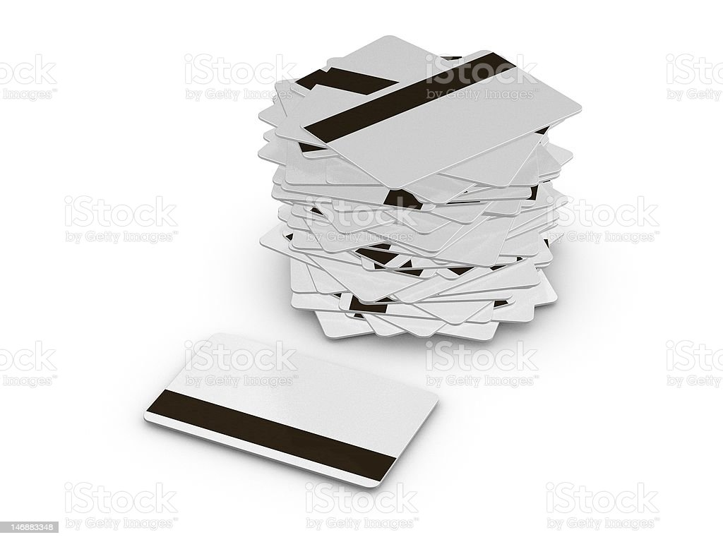 Magnetic Cards royalty-free stock photo
