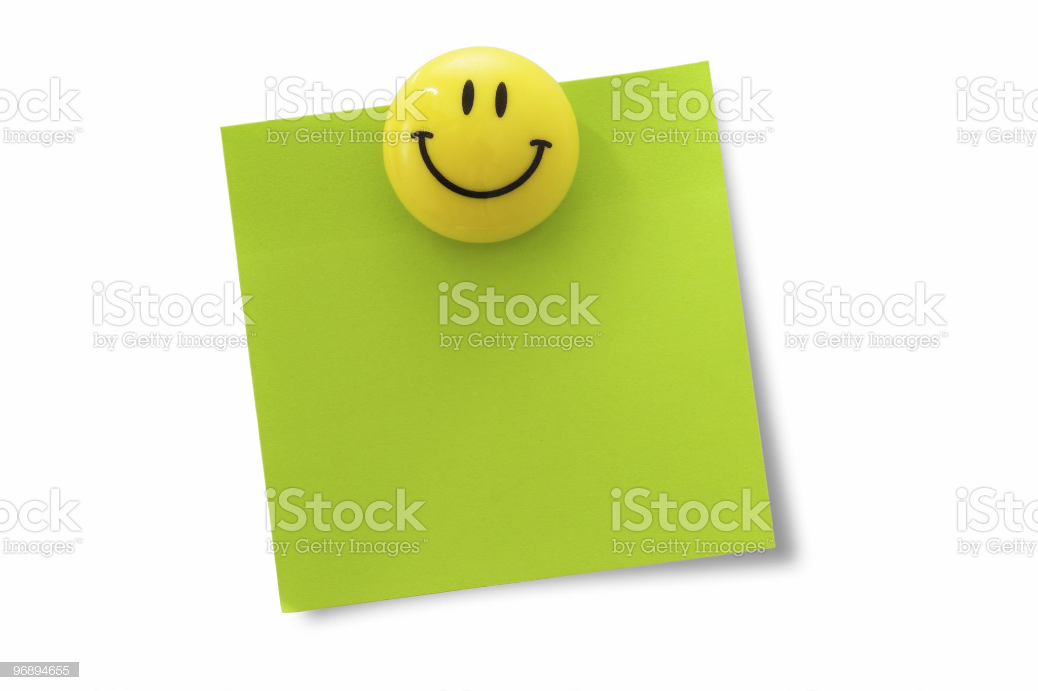 Magnetic clip royalty-free stock photo