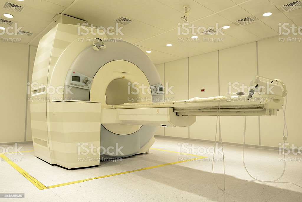 Magnetic Resonance Imager stock photo