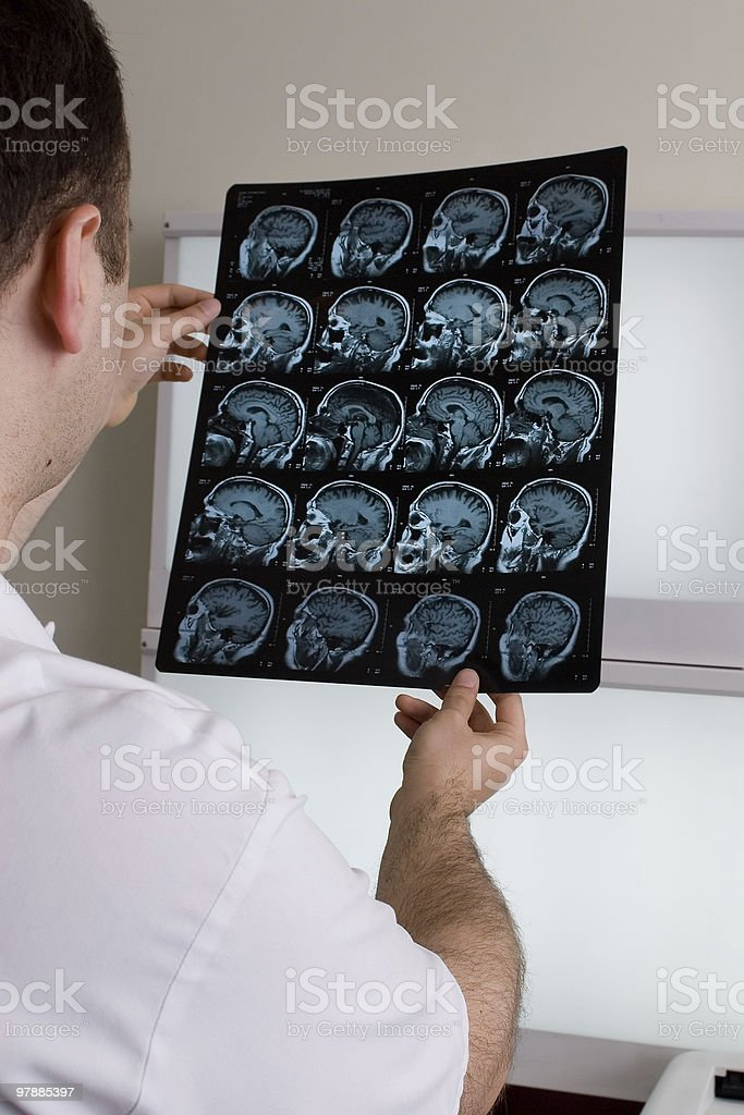 Magnetic resonance imaging royalty-free stock photo