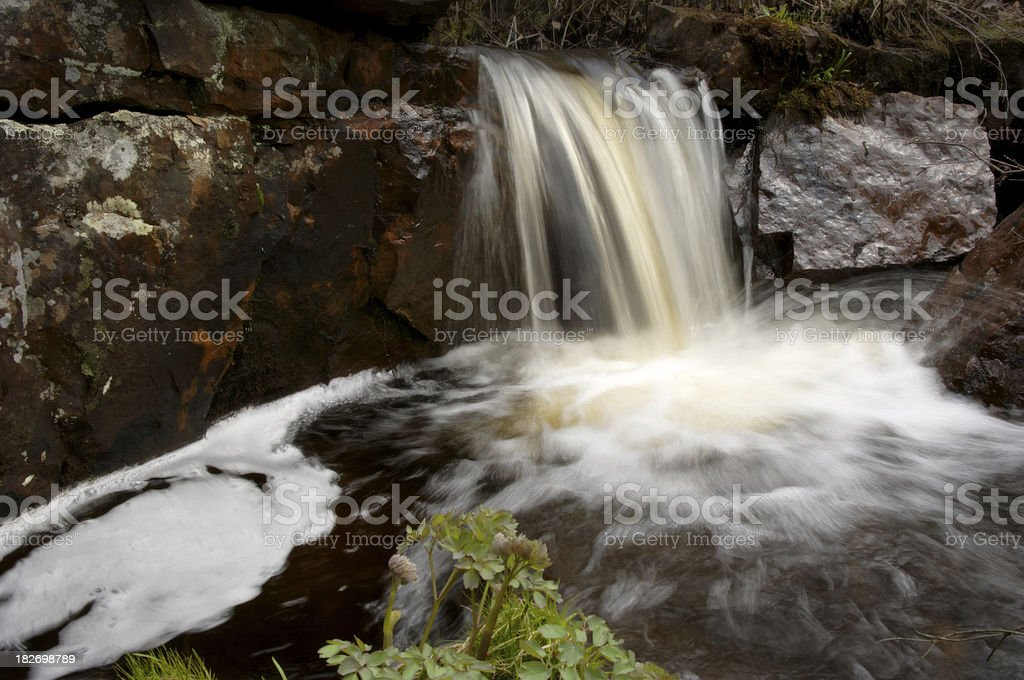Magnetic Trail Creek royalty-free stock photo
