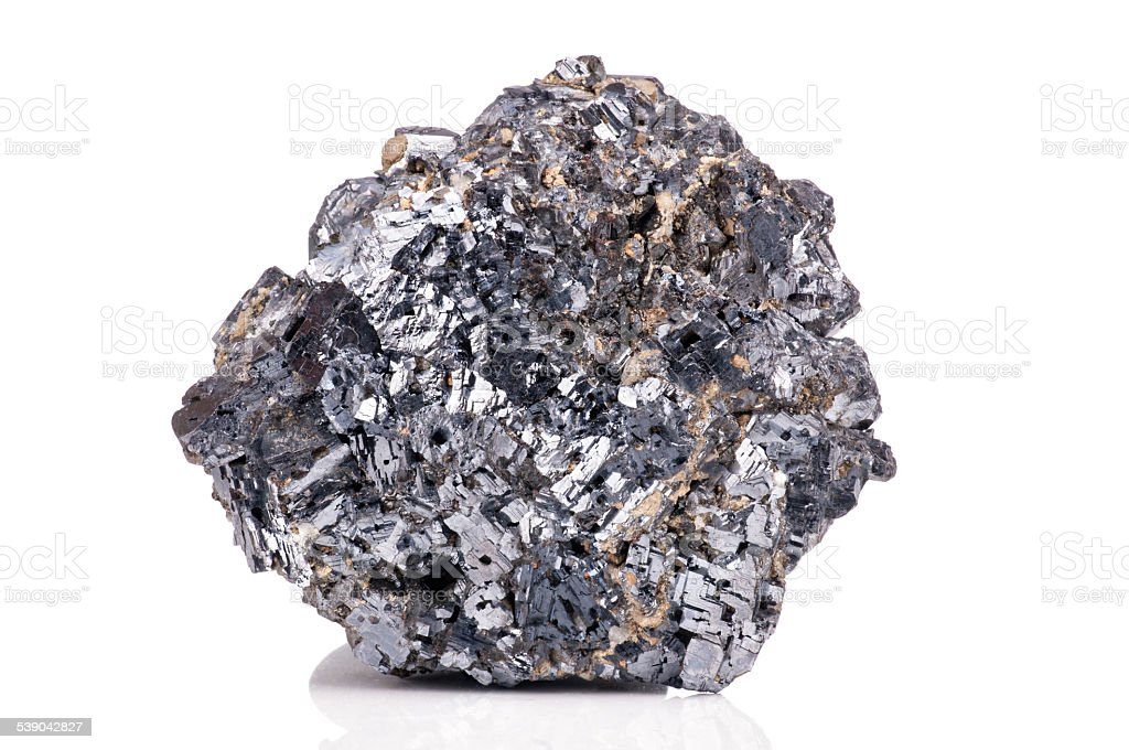 Magnetite mineral stock photo