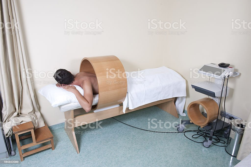 Magneto therapy royalty-free stock photo