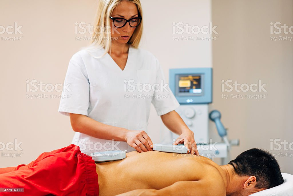 Magnetotherapy stock photo