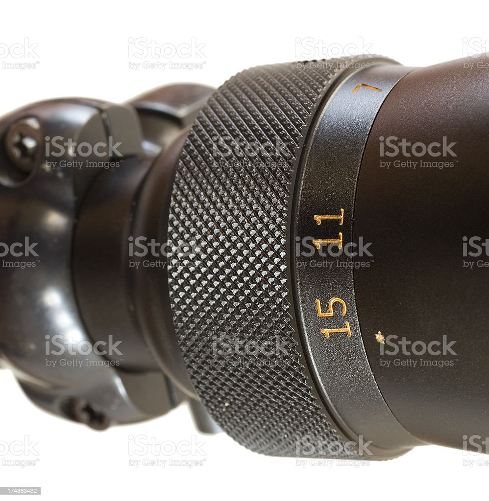 Magnification ring royalty-free stock photo