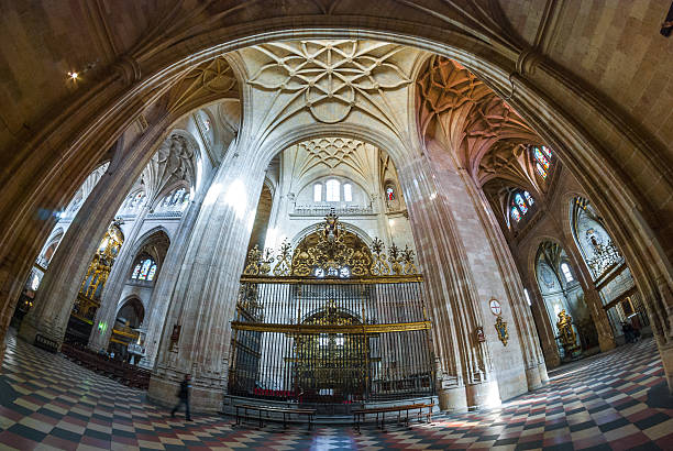 Image result for interior of segovia cathedral , spain