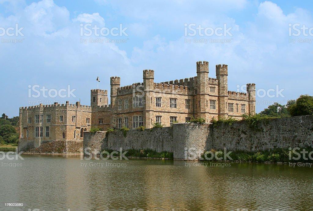 Magnificent Leeds Castle in Kent, England, UK stock photo