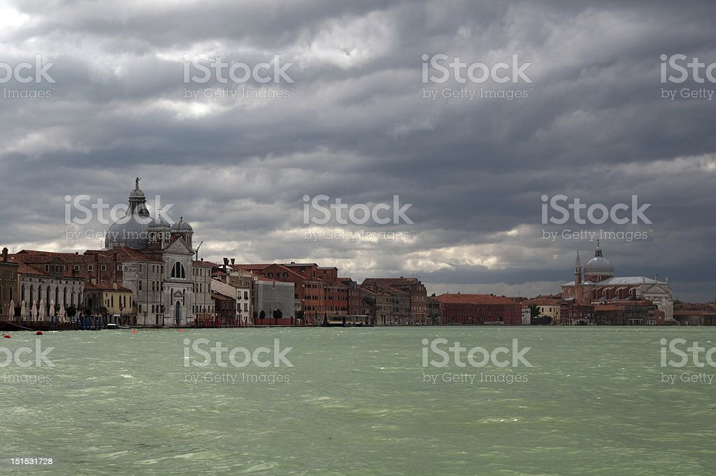 Magnificent light in Venice royalty-free stock photo