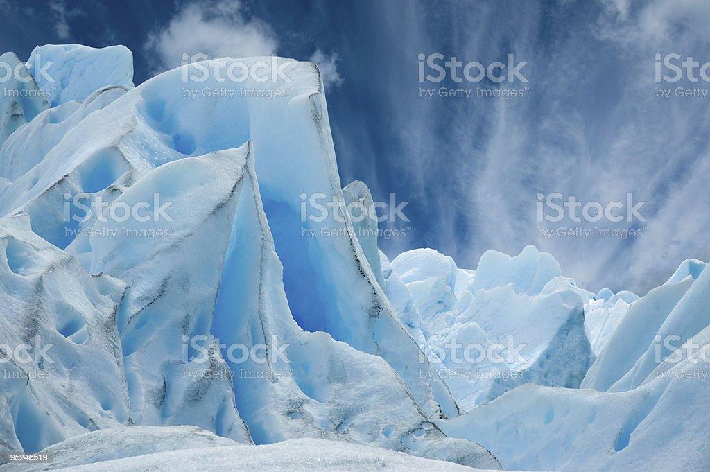 Magnificent Moreno glacier, Patagonia. stock photo