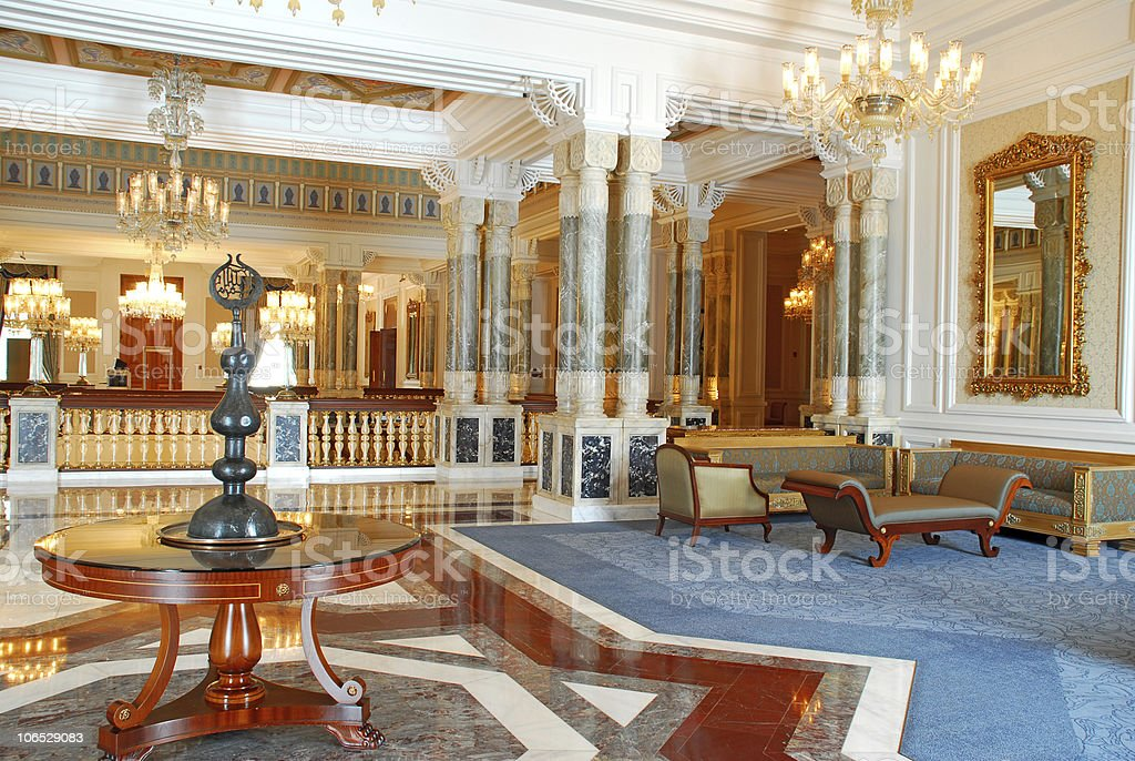 Magnificent Palace stock photo