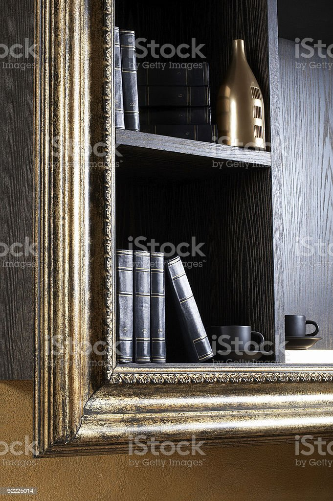 Magnificent shelf royalty-free stock photo