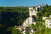 Magnificent view of Rocamadour