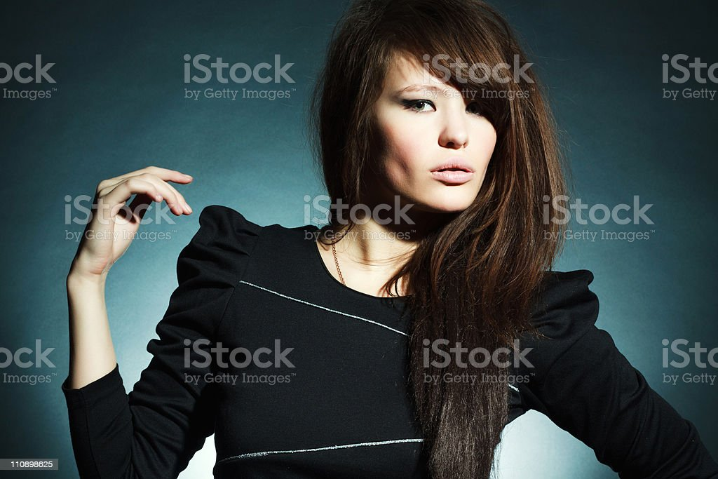 Magnificent young woman royalty-free stock photo