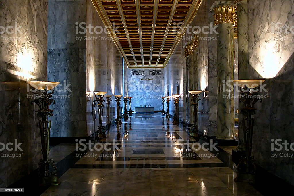 Magnificient Hall stock photo