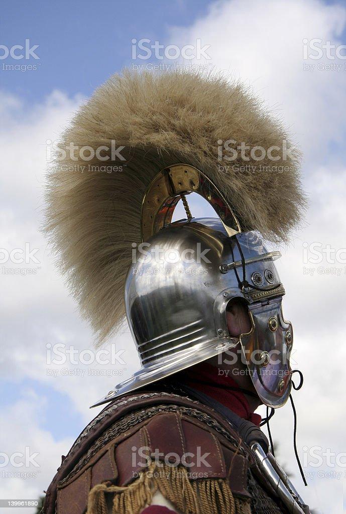 Magnificient Roman Helmet royalty-free stock photo