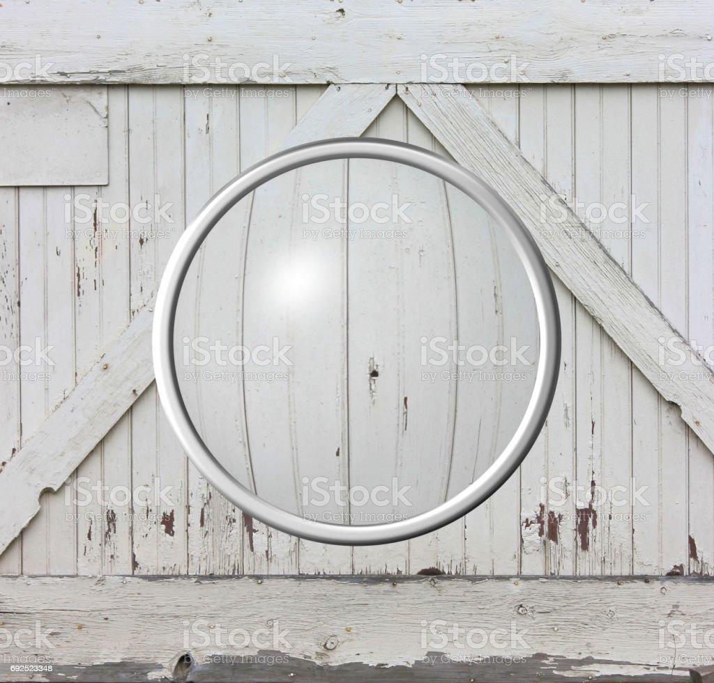 Magnified Barnwood stock photo