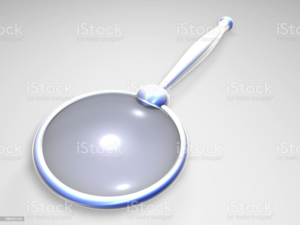 Magnifying Glass 2 royalty-free stock photo