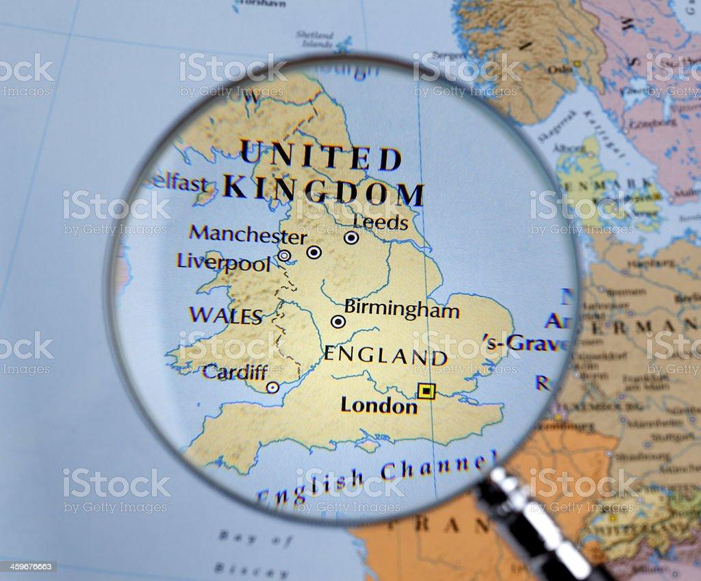 Map Of World England Derietlandenexposities