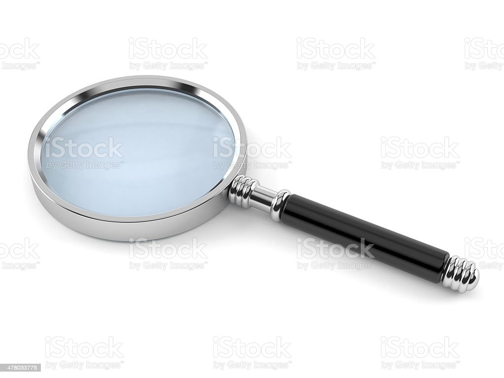 Loupe royalty-free stock photo