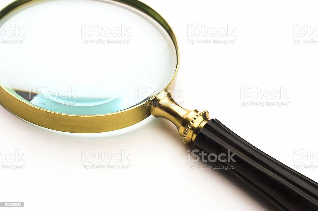 Magnifying Glass royalty-free stock photo