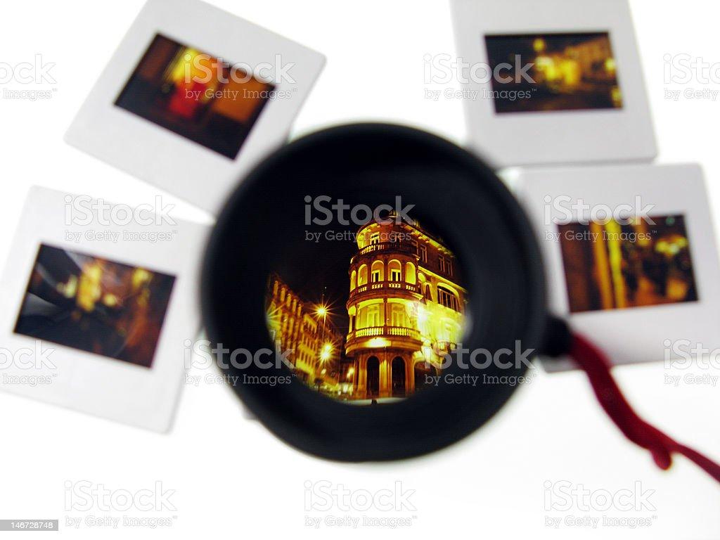 Magnifying Loupe royalty-free stock photo