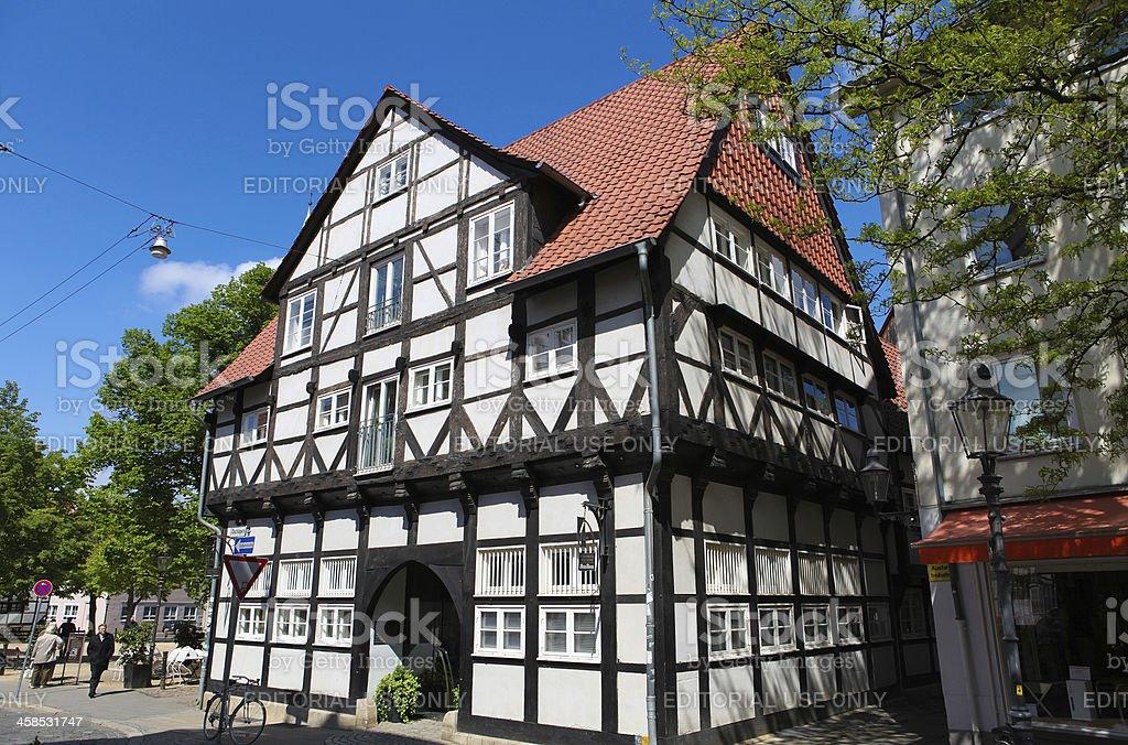 Magniviertel in Braunschweig stock photo