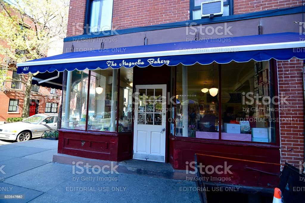 Magnolia Bakery NYC stock photo