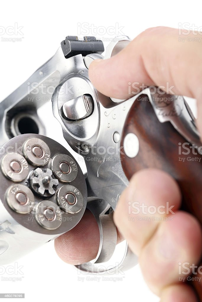 Magnum 44 revolver royalty-free stock photo