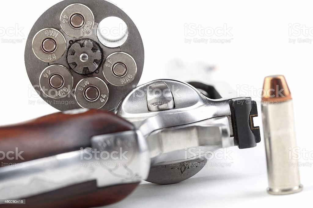 Magnum 44 revolver royalty-free stock photo