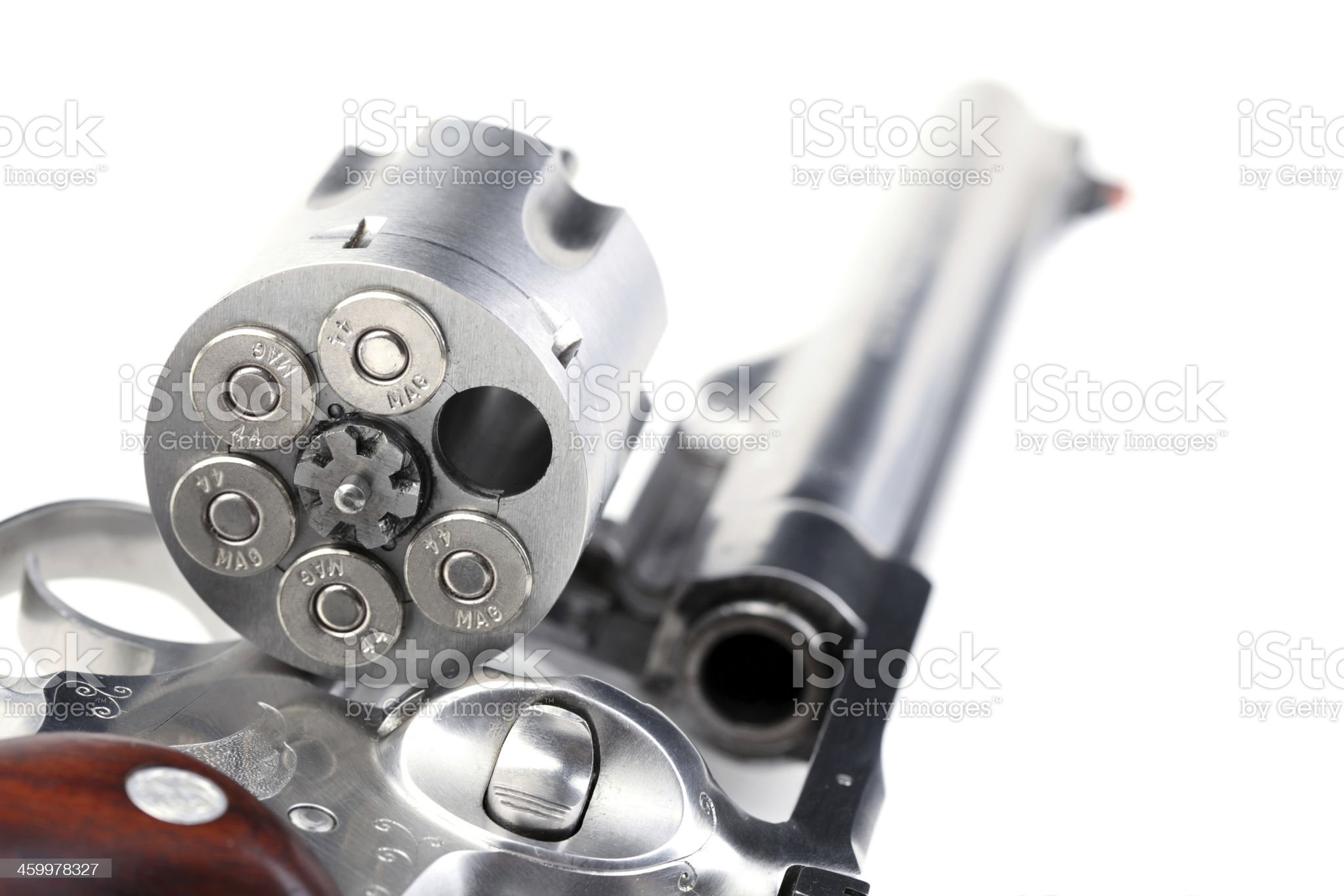 44 magnum revolver royalty-free stock photo