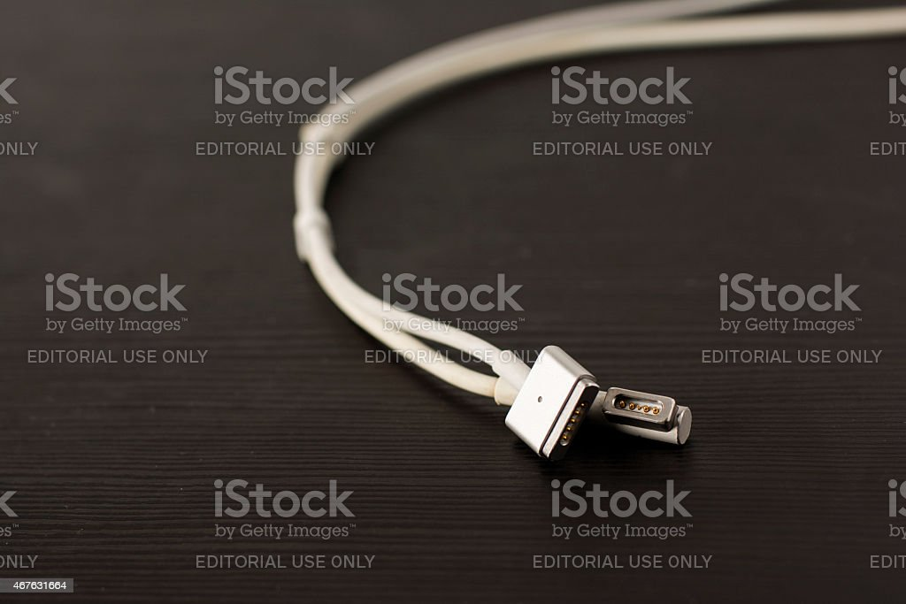 MagSafe 2 and MagSafe 1 stock photo