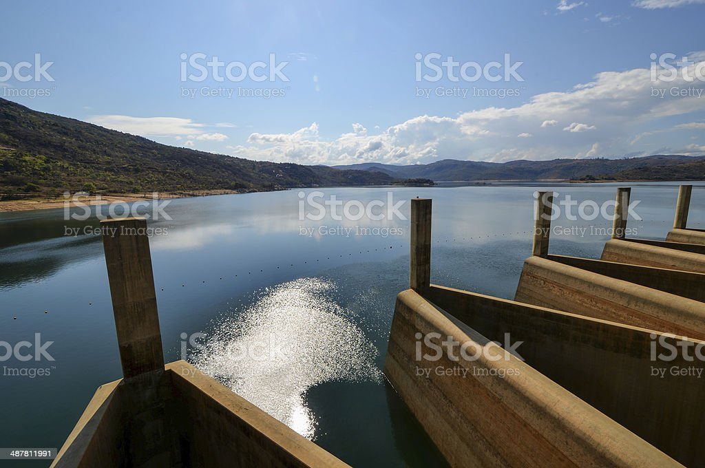 Maguga Dam, Swaziland stock photo