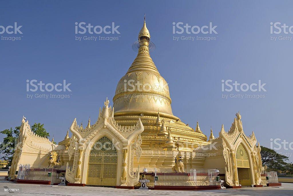 Maha Wizara pagoda royalty-free stock photo
