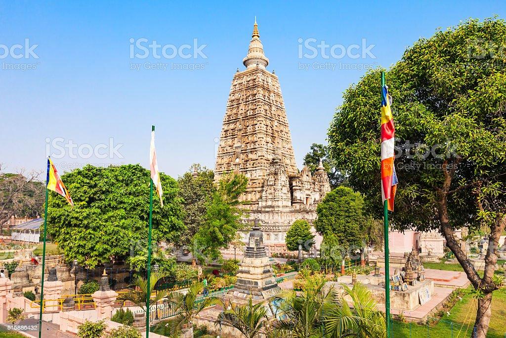 Mahabodhi Temple, Bodhgaya stock photo