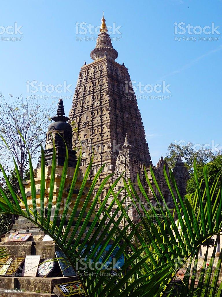 Mahabodhi Temple royalty-free stock photo
